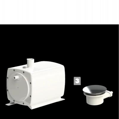 POMPE domestique - Sanifloor+ 3 pour receveur extra-plat
