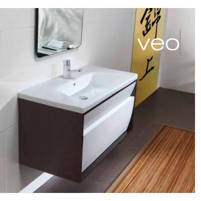 Lavabo suspendu / à encastrer GALA - VEO - De 80,5x45,5 cm.
